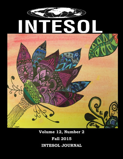 Fall 2015 INTESOL Journal Volume 12, Issue 2