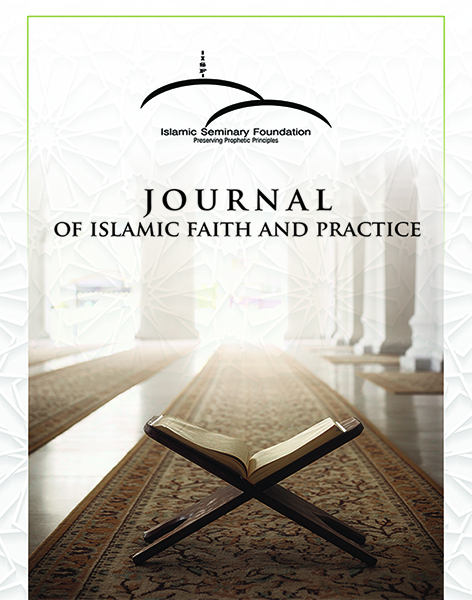 Journal on Islamic Faith and Practice