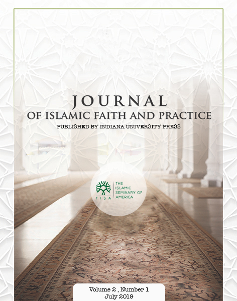 Journal on Islamic Faith and Practice cover