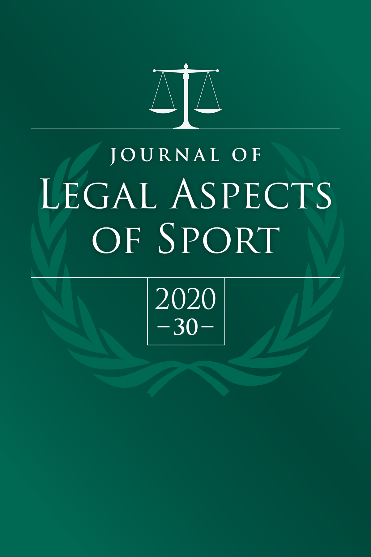 Journal of Legal Aspects of Sport cover