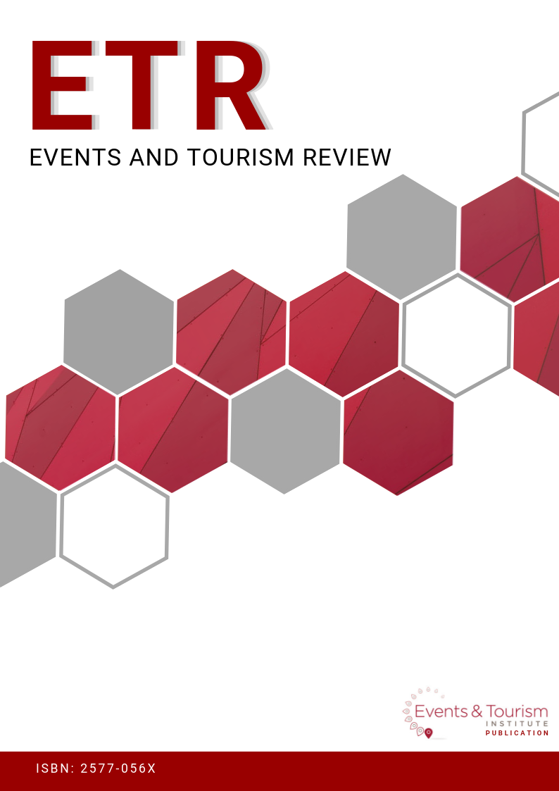 Events and Tourism Review cover