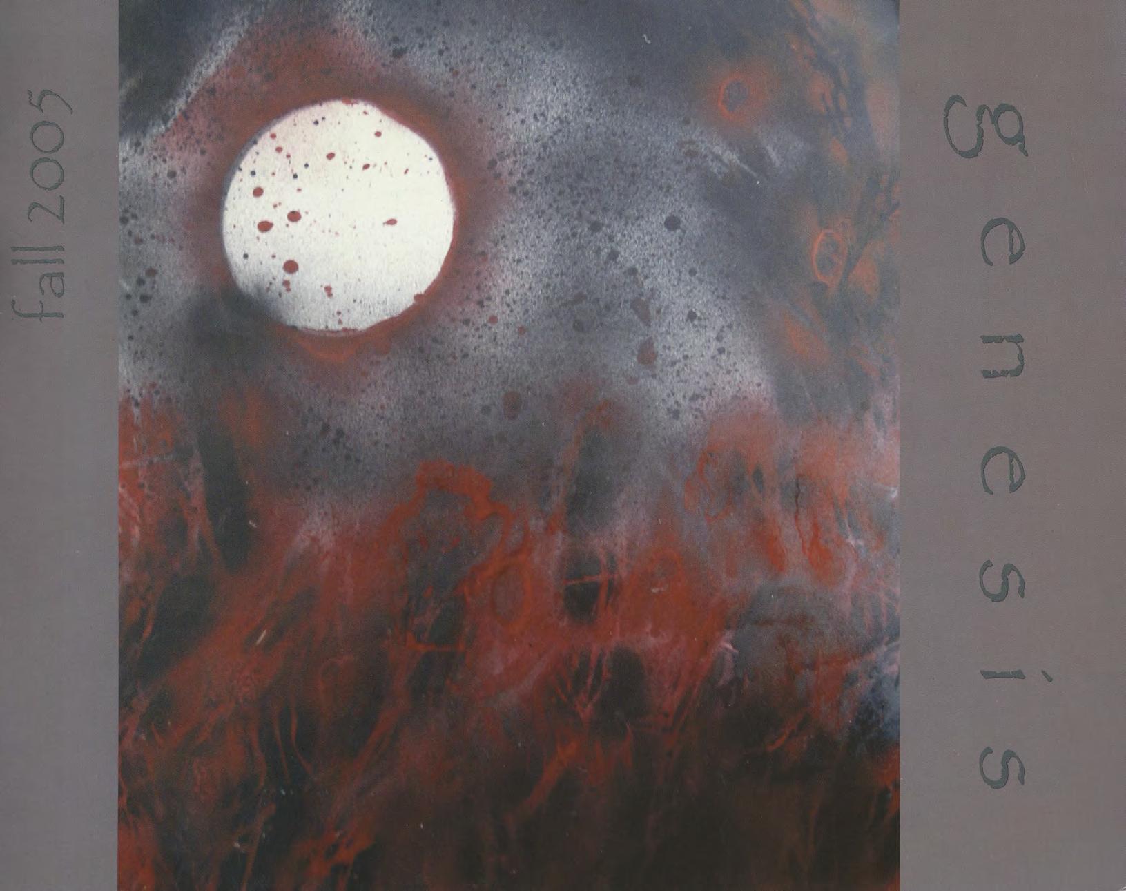 genesis fall 2005 cover