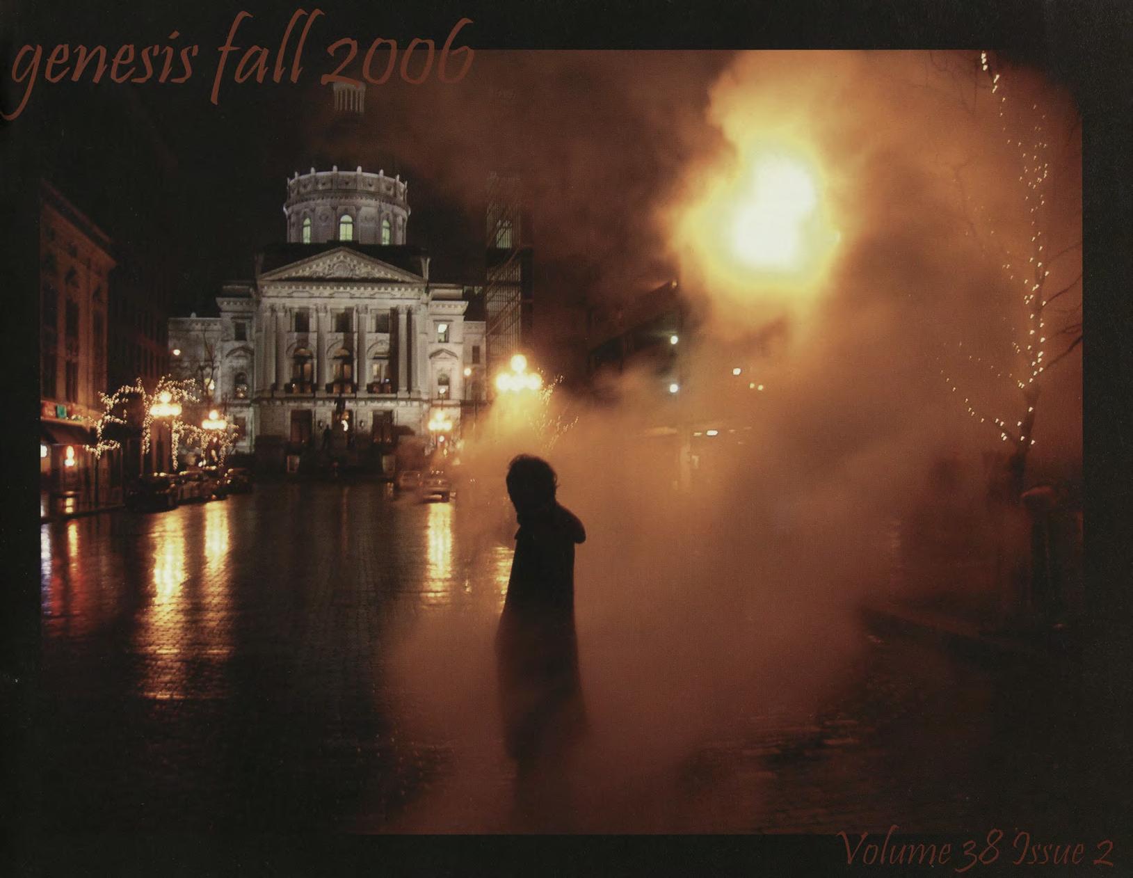 genesis fall 2006 cover