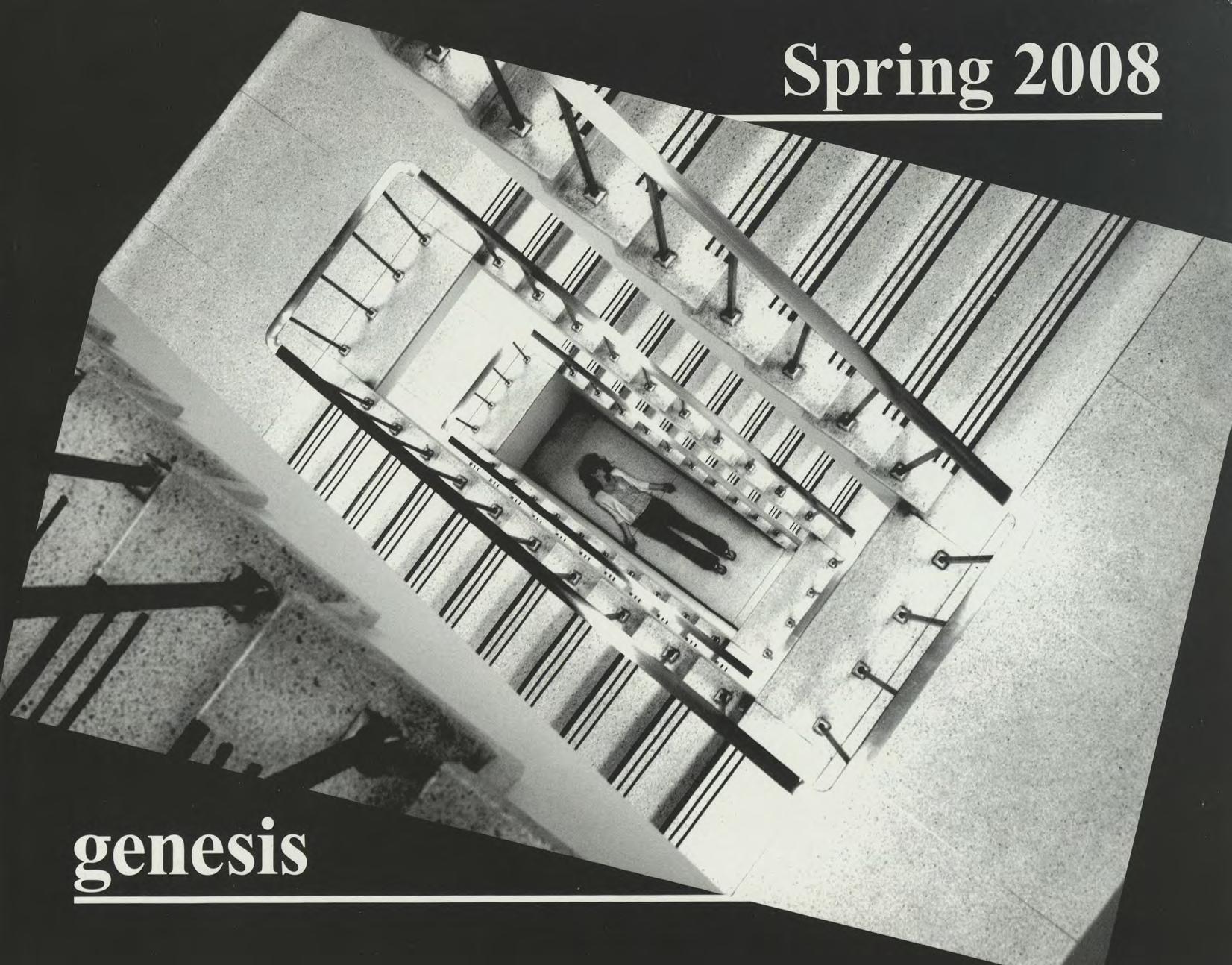 genesis spring 2008 cover