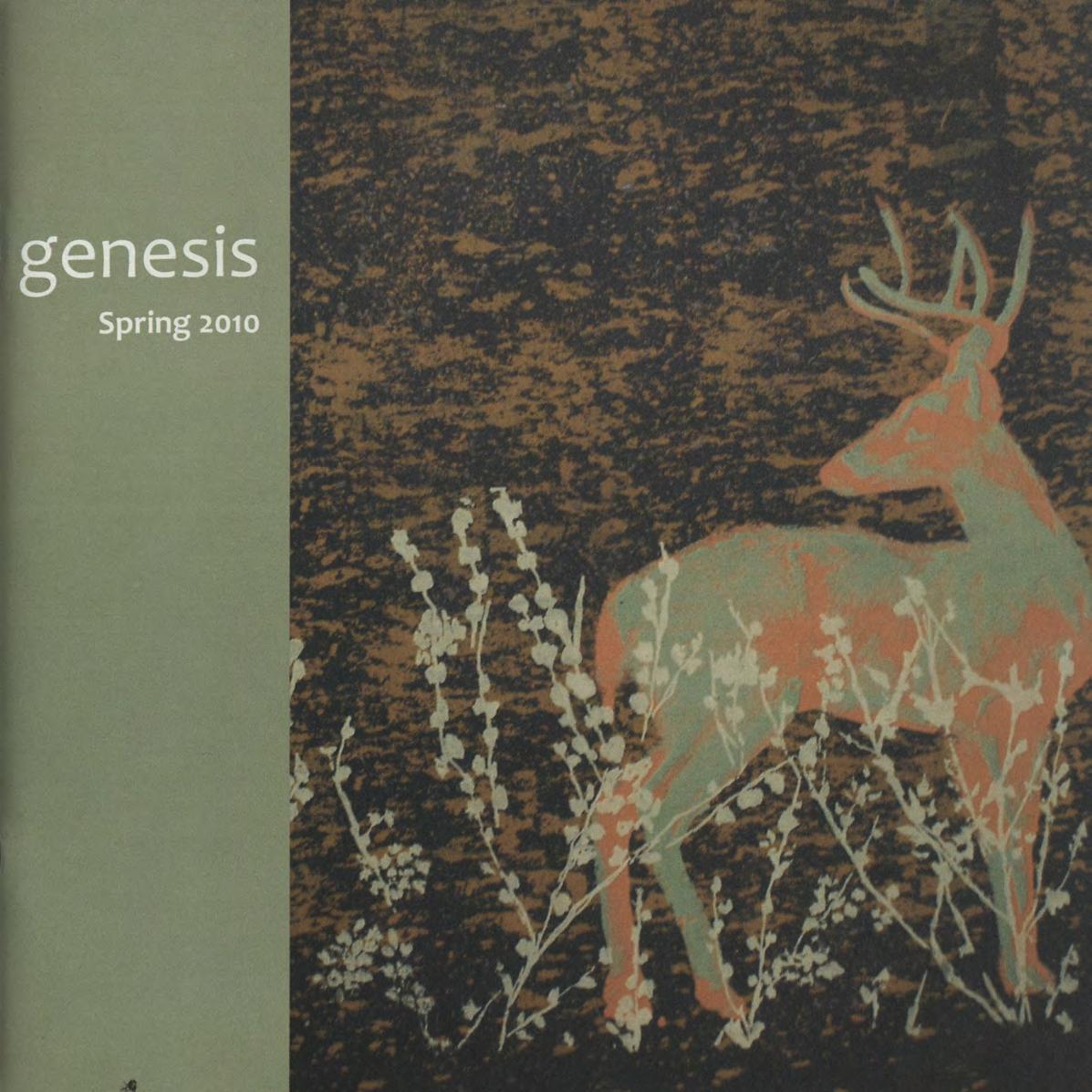 genesis spring 2010 cover