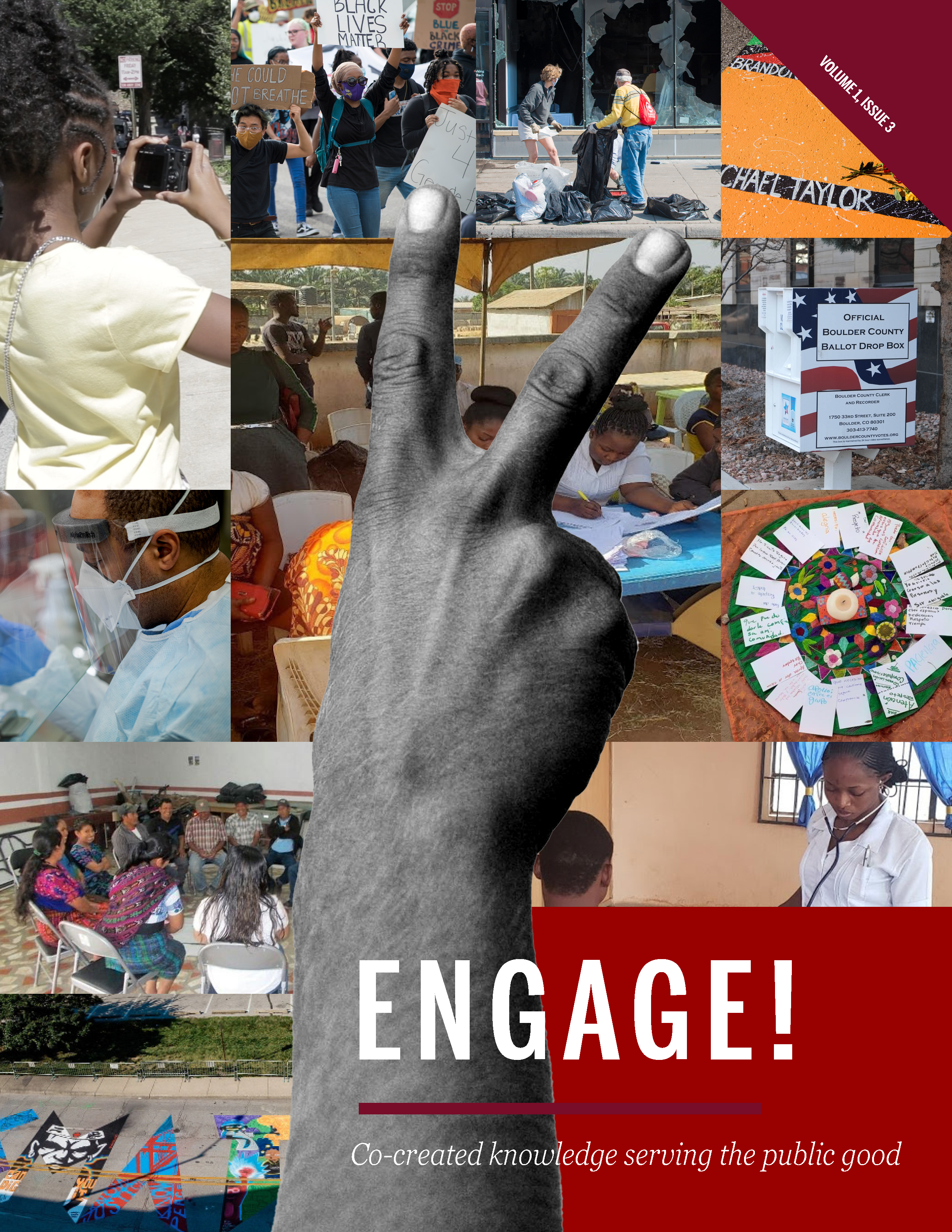 View Vol. 1 No. 3 (2020): ENGAGE! Co-created knowledge serving the public good