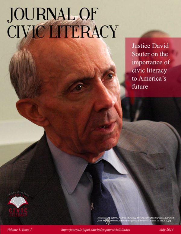 [Picture of Justice David Souter] Justice David Souter reflects on the the importance of Civic Literacy to the United States' future.