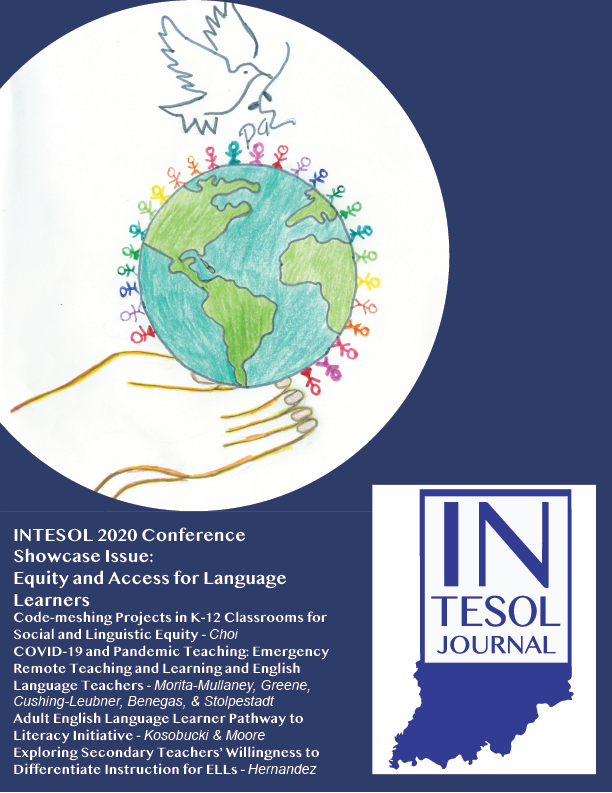 View Vol. 18 No. 1 (2021): Equity and Access For Language Learners: INTESOL Conference 2020 Showcase Issue