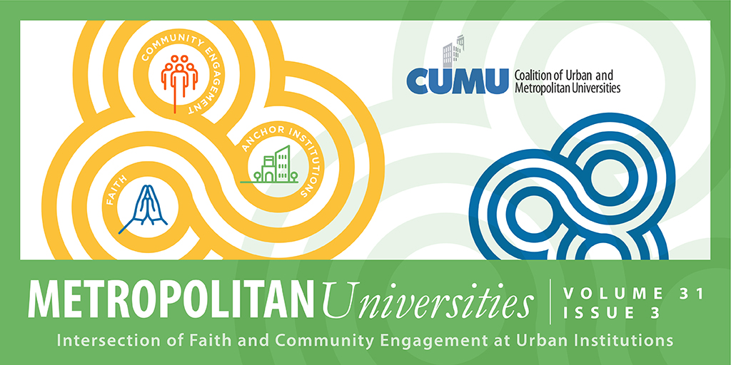 View Vol. 31 No. 3 (2020): The Intersection of Faith and Community Engagement at Urban Institutions