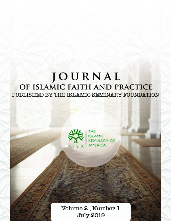 Journal of Islamic Faith and Practice