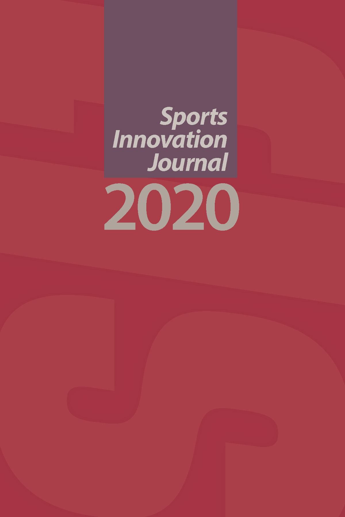 Sports Innovation Journal 2020 Cover