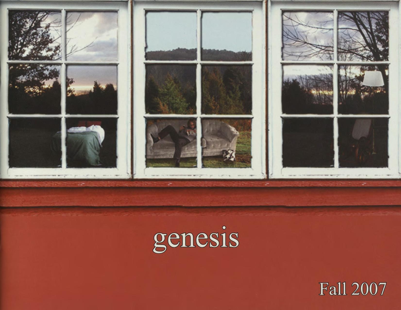 genesis fall 2007 issue