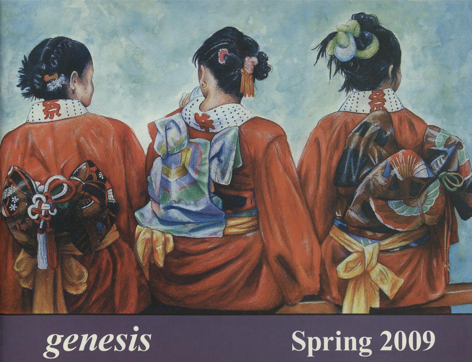 genesis spring 2009 cover