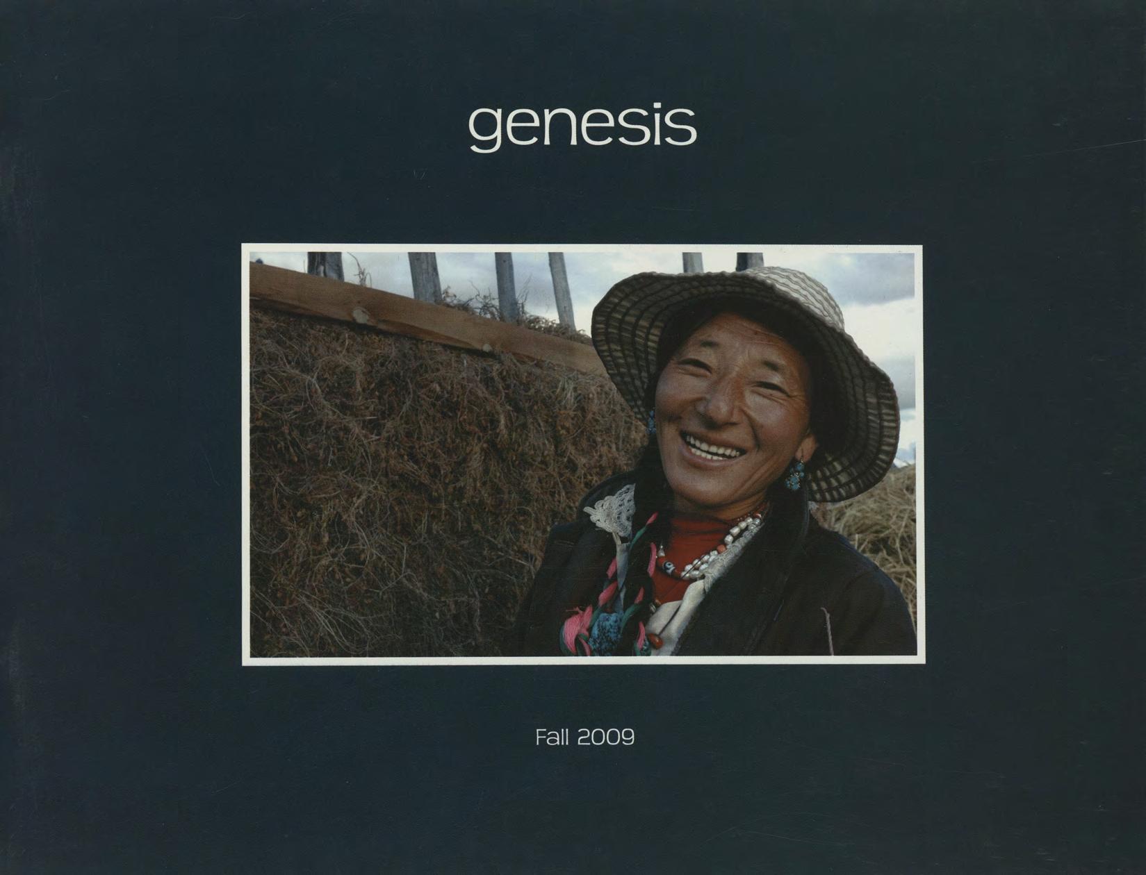 genesis fall 2009 cover