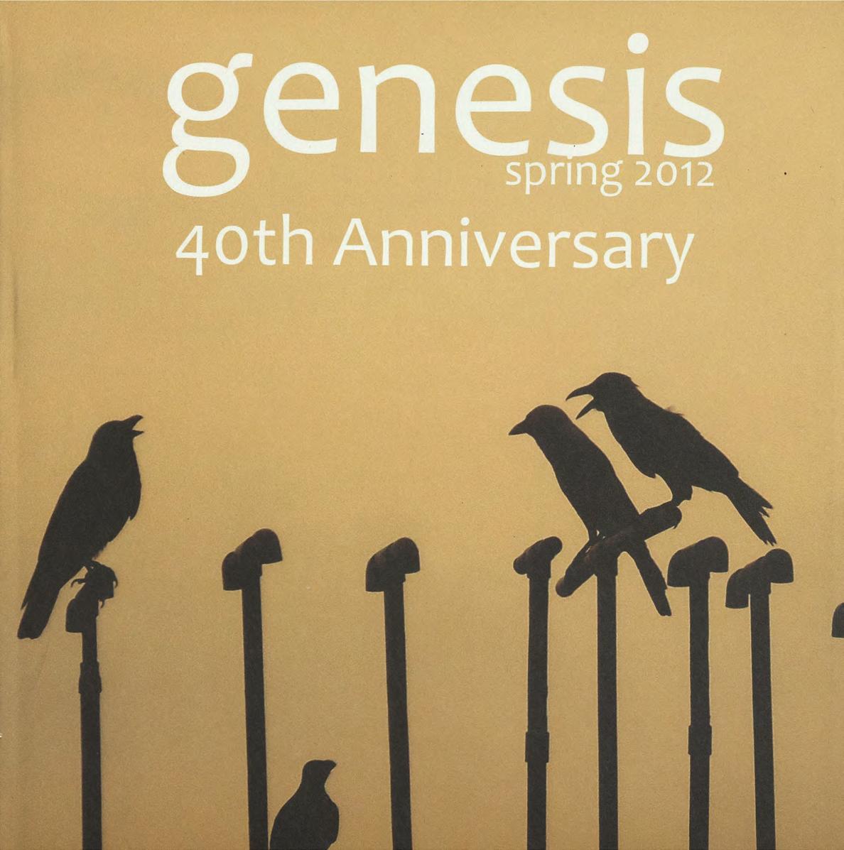 genesis spring 2012 cover