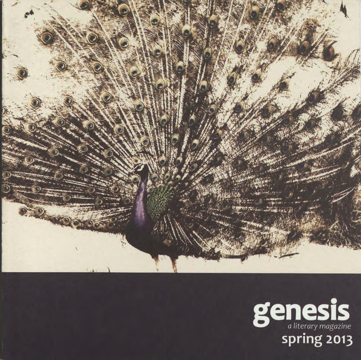genesis spring 2013 cover
