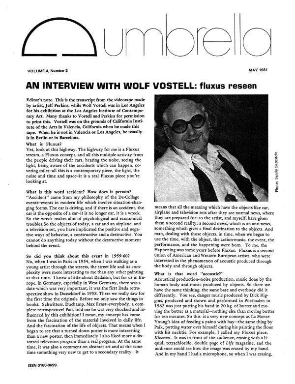 View Vol. 4 No. 3 (1981)