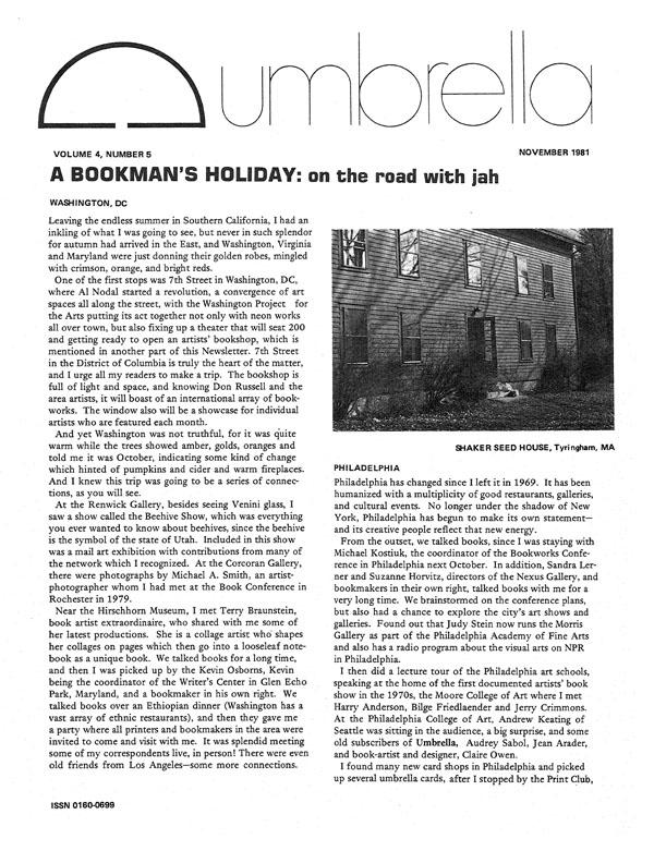 View Vol. 4 No. 5 (1981)