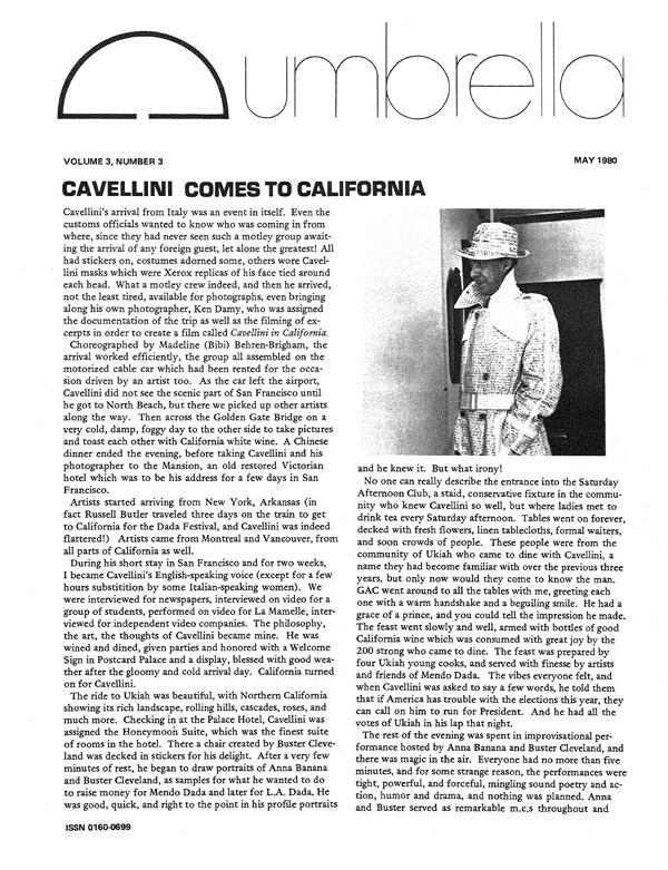 View Vol. 3 No. 3 (1980)
