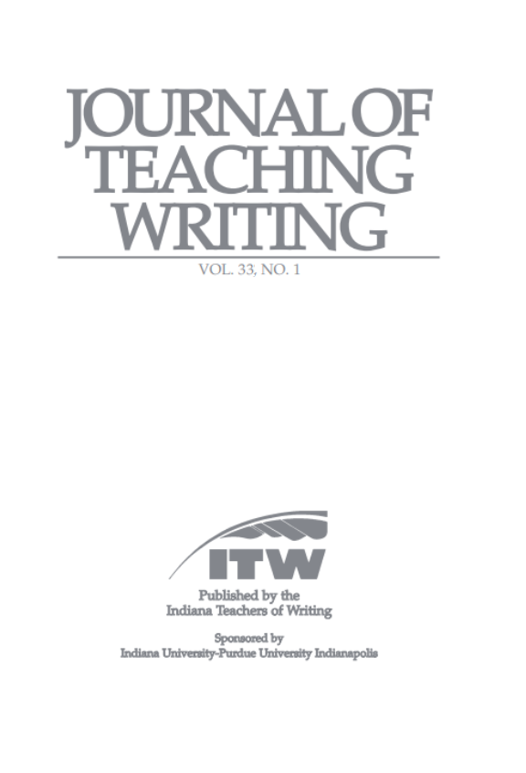 Journal of Teaching Writing logo